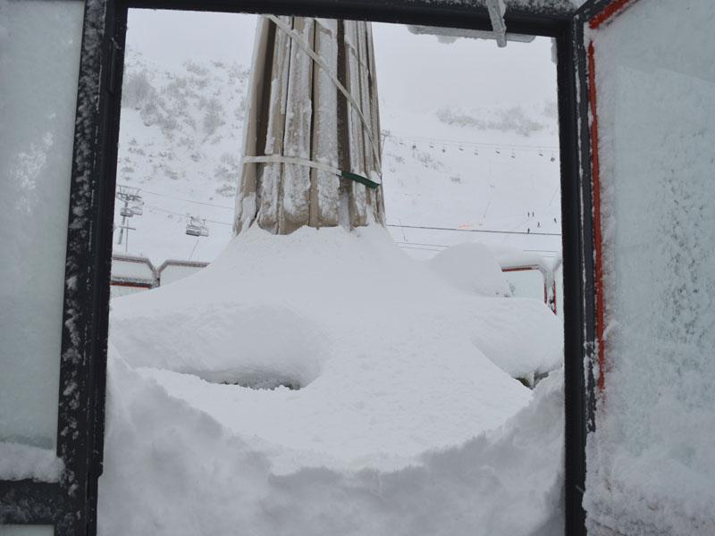 1 m de neige